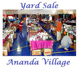 Yard Sale w words